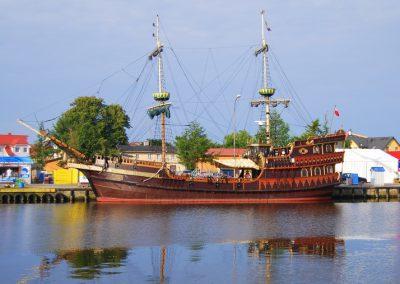 Darłówko- port.